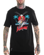 LRG - It Only Snows in Miami T-Shirt