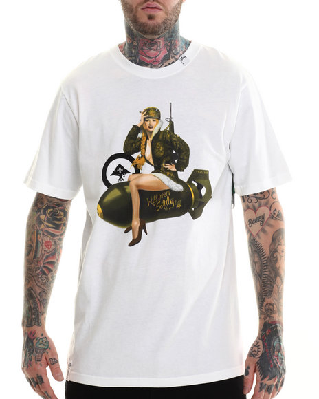 LRG - Men White Killen Em Softly T-Shirt