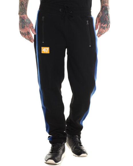 Lrg - Men Black Indie Sport Sweatpants