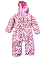 Baby Phat - LEOPARD PRINT SNOWSUIT (INFANT)