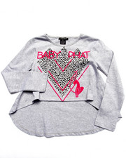 Baby Phat - HI-LOW KITTY TEE (7-16)
