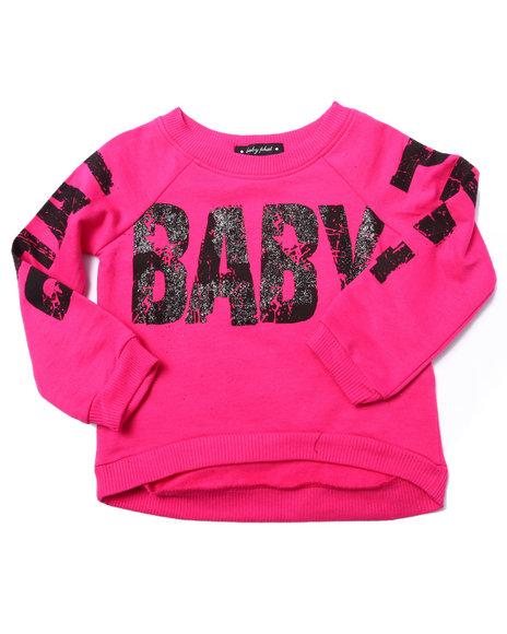 Baby Phat - Girls Pink Logo Popover Top (2T-4T)