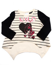 Baby Phat - WILD AT HEART TEE (2T-4T)
