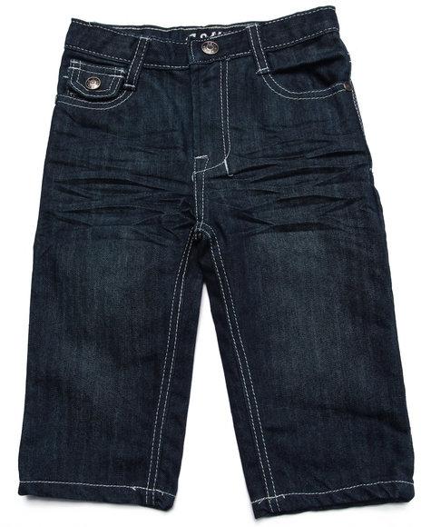 Arcade Styles - Boys Dark Wash Ez Premium Jeans (Infant) - $14.99