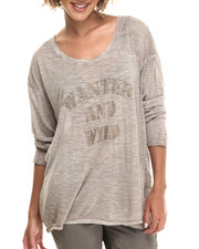 Women - Wanted And Wild Relaxed Boyfriend L/S