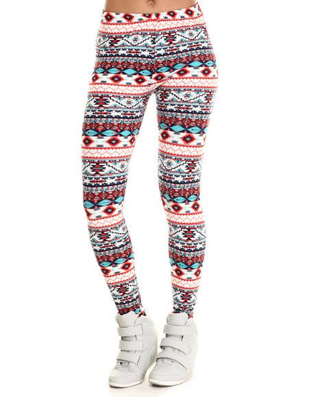 Fashion Lab - Women Multi Southwest Print Legging