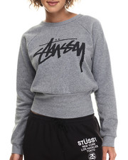 Tops - Fitted Crewneck Sweatshirt