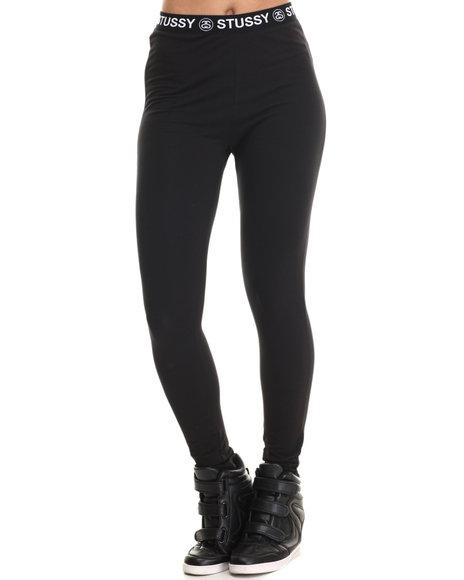 Stussy - Women Black Banded Leggings