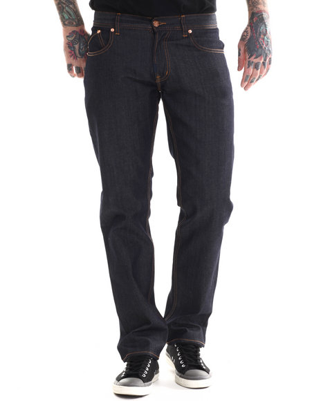 Lrg - Men Dark Wash Core Lrg True Tapered Denim Jeans