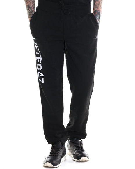 Ur-ID 207148 LRG - Men Black Lifted 47 Sweatpants