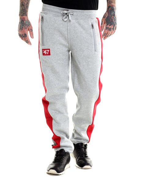 Lrg - Men Grey Indie Sport Sweatpants