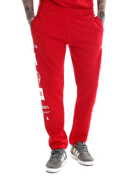 Crooks & Castles - Men Red Mobbin Sweatpant