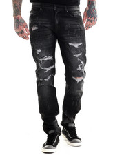 Jeans & Pants - Rip and Run Slim Fit Jeans