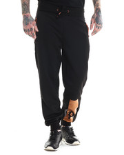 Pants - Parker Neoprene Copper detail Jogger pants