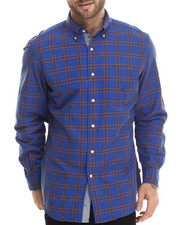 Nautica - Plaid Oxford L/S Button-Down