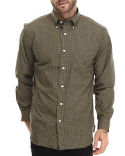 Nautica - Mini Plaid L/S Button-Down
