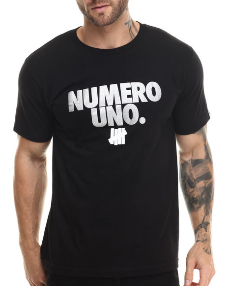 Undftd - Men Black Numero Uno Tee