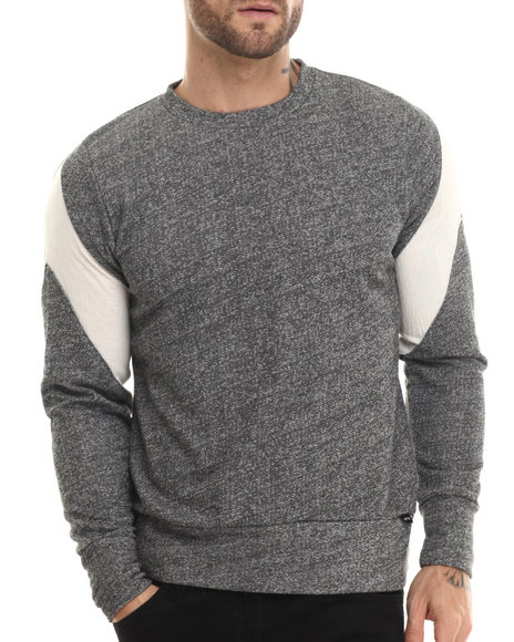 Eptm. - Men Charcoal The Vet Gravel Crewneck Sweatshirt