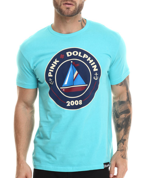 Pink Dolphin - Men Teal Since 08 S/S Tee