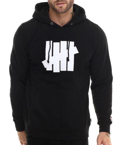 Undftd - Men Black 5 Strike Pullover Hoodie