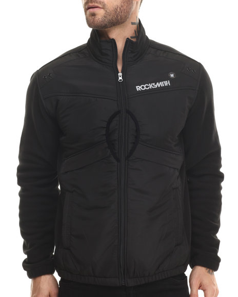 Rocksmith - Men Black Polar Remix Jacket