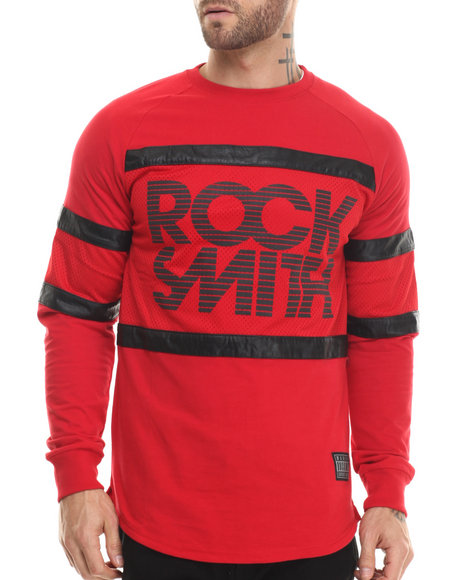 Rocksmith - Men Red Stratus L/S 3M T-Shirt