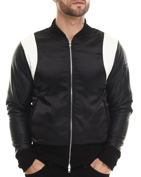 Ur-ID 207317 EPTM. - Men Black Billy Jean Classic Bomber