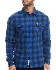 Long-Sleeve - Franchise Flannel L/S Button-down