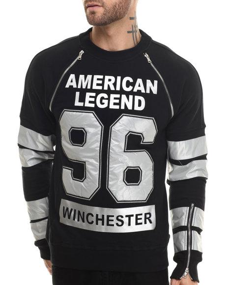 Ur-ID 207321 Winchester - Men Black Winchester American Legend 3M L/S Sweatshirt