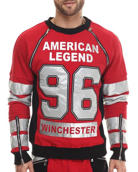 Winchester - Men Red Winchester American Legend 3M L/S Sweatshirt