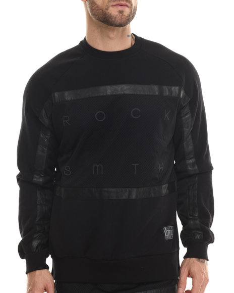 Rocksmith - Men Black Stratus 3M Sweatshirt - $37.99