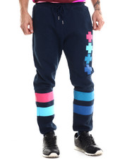 Men - Quilted Cross Jogger