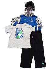 LRG - 3 PC SET - HOODY, BODYSUIT, & PANTS (INFANT)