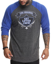 Men - Research Collection Get Lifted Raglan (B&T)