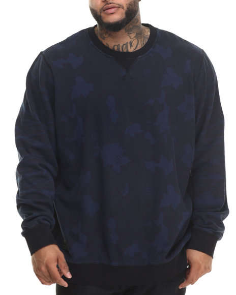 Lrg - Men Navy Body Bagger Sweatshirt (B&T)