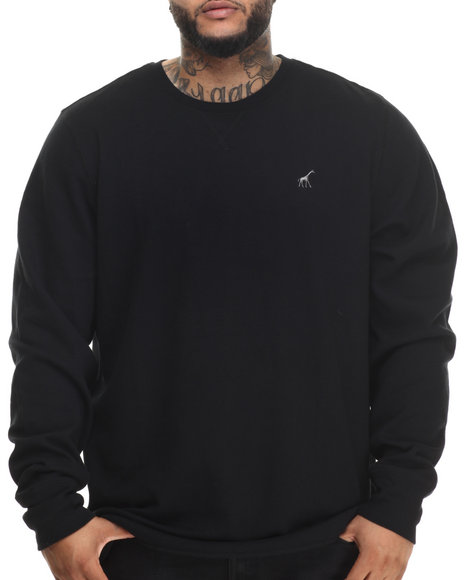 Lrg - Men Black Research Collection Thermal (B&T)