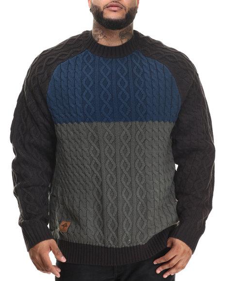 Lrg - Men Navy Chroncordia Sweater (B&T)