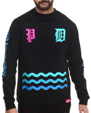 Men - Wavelordz I I Crewneck Sweatshirt