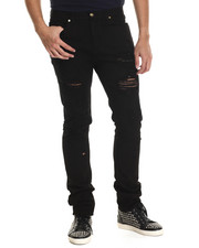Men - Light Wash Denim Jeans