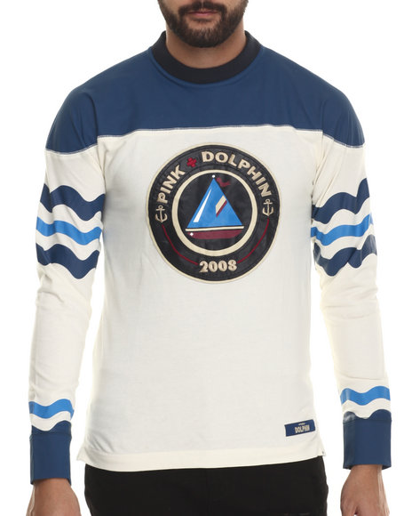 Pink Dolphin - Men Cream Since 08 Knit Jersey