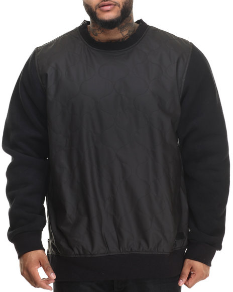Ur-ID 222951 LRG - Men Black Aggro Sweatshirt (B&T)