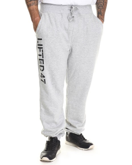 Lrg - Men Grey Lifted 47 Sweatpants (B&T)