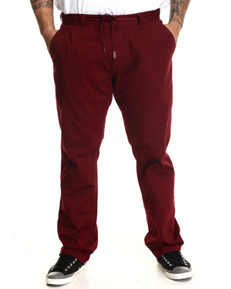 Lrg - Men Red Research Collection Chino Pant (B&T)