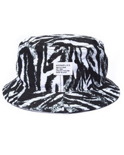 Men - Zebra Bucket Hat