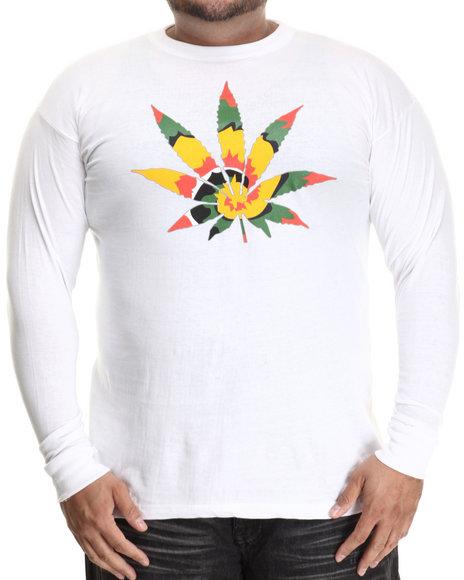 Buyers Picks - Men White Tie Dye High L/S (B&T)