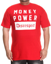 Men - Money Power Disrespect S/S Tee (B&T)