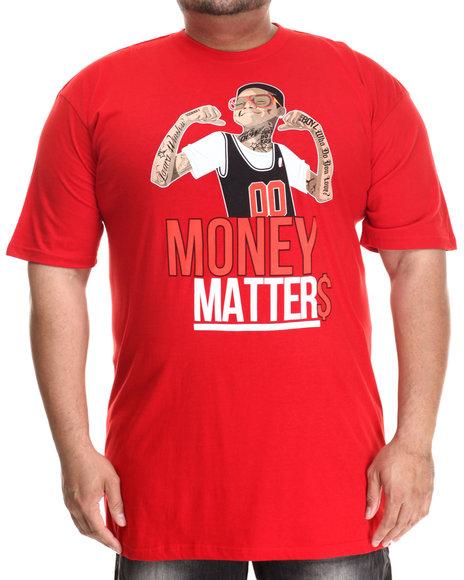 Buyers Picks - Men Red Money Matters S/S Tee (B&T) - $22.00