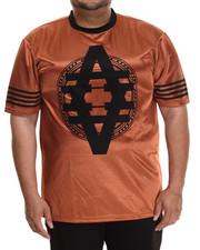 Akademiks - Aspen Copper Metallic Jersey tee (B&T)