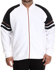 Akademiks - Horizon Neoprene  Copper Track Jacket (B&T)