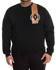 Akademiks - Lenox Neoprene Crewneck Copper Detail Shirt (B&T)
